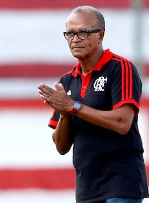 Jayme de Almeida no jogo Flamengo e Boavista (Foto: Guito Moreto / Agência O Globo)