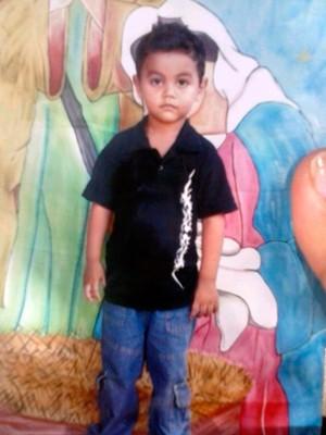 Foto de Luiz Juan Pereira com 9 anos. Garoto foi morto com um tiro em Mossoró. (Foto: Reprodução/Arquivo da família)