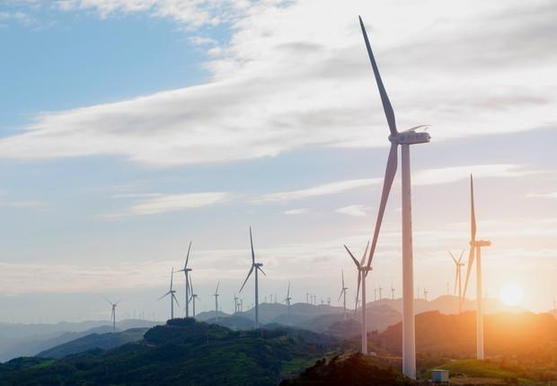 energia eólica - energia renovável - China  (Foto: Thinkstock)