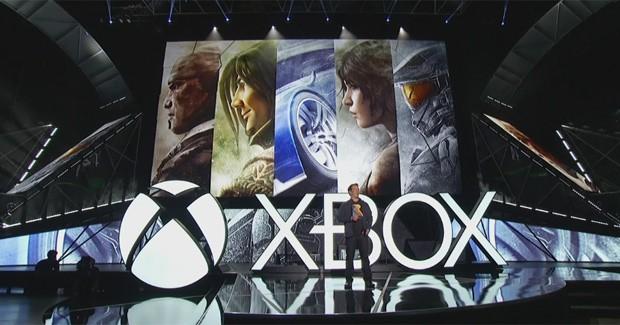 Phil Spencer, chefe da divisão Xbox na Microsoft, encerra conferência da empresa na E3 2015 (Foto: Reprodução)