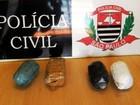 Trio é preso ao tentar entrar com droga em presídio de Flórida Paulista