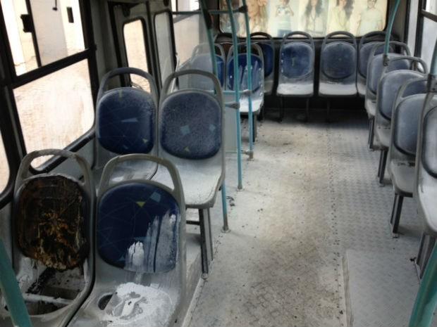 Polícia atribui casos recentes a vandalismo (Foto: Alberto D'Angele/RPC TV)