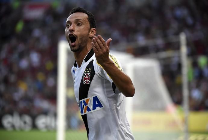 Nenê gol Vasco (Foto: André Durão)