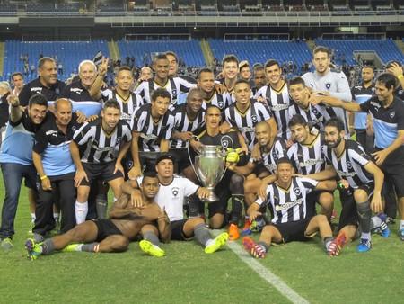Botafogo campeão Taça Guanabara (Foto: Gustavo Rotstein)