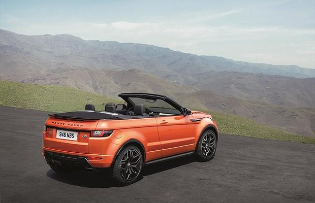 Land Rover Range Rover Evoque conversível (Foto: Land Rover)