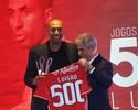Luisão é homenageado por 500 jogos pelo Benfica e vai renovar até 2020