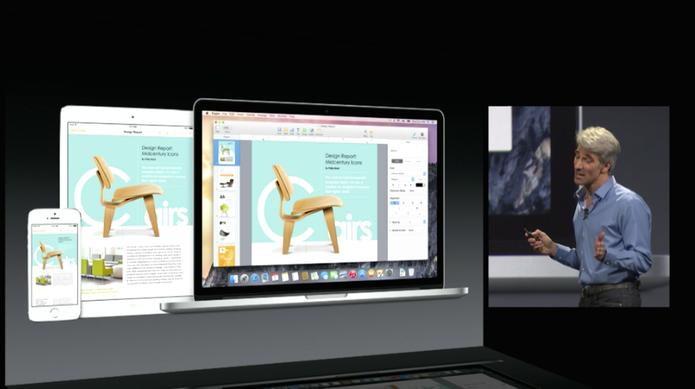 E agora, a Apple também tem o iCloud Drive (Foto: Reprodução/Apple)
