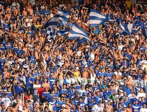 torcida Cruzeiro jogo Libertadores Universidad de Chile (Foto: Getty Images)