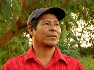 'Bairros' em Dourados, MS, aldeias sofrem com violência e alcoolismo (Foto: Reprodução/TV Morena)