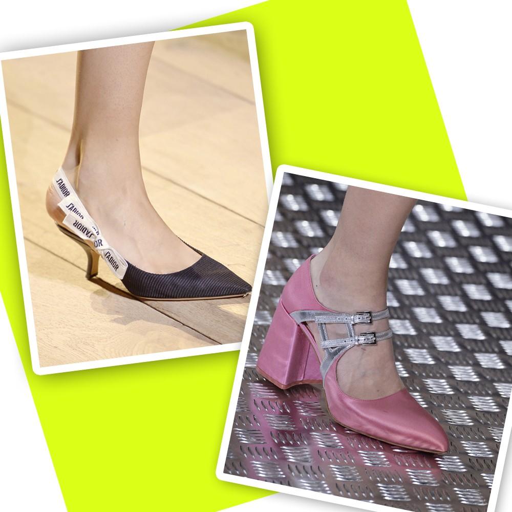 Modelos da Dior e da Prada (Foto: Getty Images)
