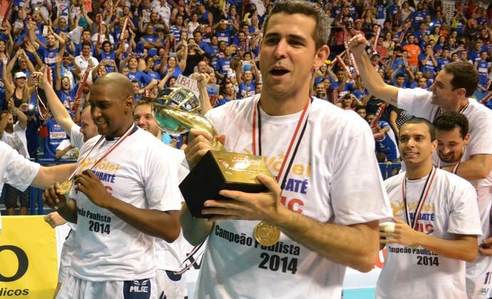 Dante Vôlei Taubaté troféu (Foto: Filipe Rodrigues)