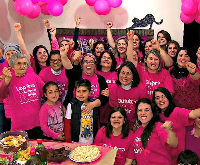Outubro Rosa Mistura com Rodaika Edilene (Foto: Reprodução/RBS TV)