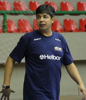 Alexandre Rios, técnico do Mogi Basquete sub-19 (Foto: Petterson Rodrigues)