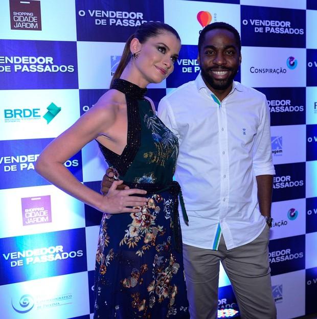 Alinne Moraes e Lázaro Ramos (Foto: Francisco Cepeda/Agnews)