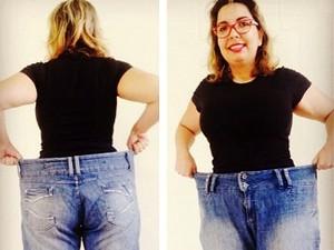 Empresária perde 42kg em um ano e cria blog para incentivar vida saudável 2 (Foto: Reprodução/Arquivo Pessoal)