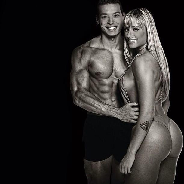 Juju Salimeni e o namorado (Foto: Instagram / Reprodução)