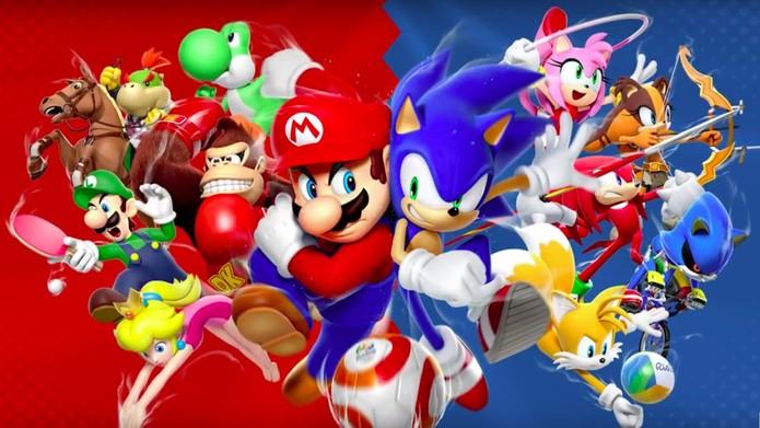 Mario & Sonic at the Rio 2016 Olympic Games (Foto: Divulgação/Nintendo)