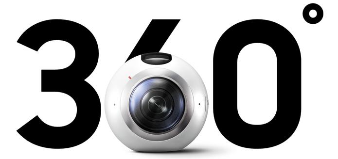 Câmera Gear 360 grava em 3K e pode chegar ao Brasil em breve (Foto: Divulgação/Samsung)