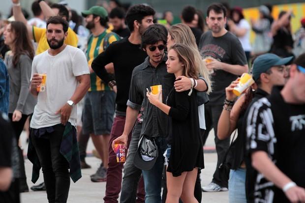 Bruno Gissoni e Marcela Tavares (Foto: Orlando Oliveira/Agnews)