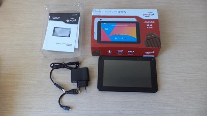 Tablet 7 Quad-Core da Newlink (Foto: Techtudo / Dario) (Foto: Tablet 7 Quad-Core da Newlink (Foto: Techtudo / Dario))