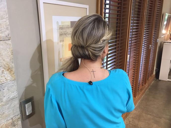 penteado simples que vai te deixar linda (Foto: Taís Moreno/ Gshow)