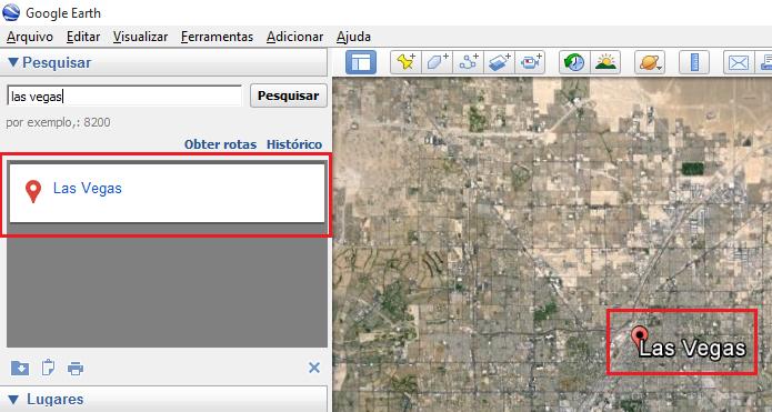 Visualizando a localidade no Google Earth (Foto: Reprodução/Edivaldo Brito)