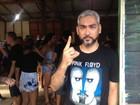 'Pura diversão', diz roqueiro ao assistir A Banda ao som de heavy metal