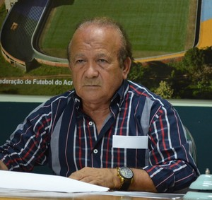 Antônio Aquino Lopes é presidente da FFAC desde 1984 (Foto: Duaine Rodrigues)