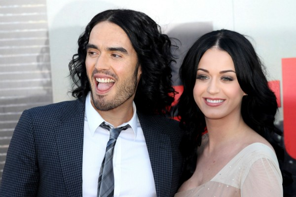 Russel Brand e Katy Perry (Foto: Getty Images)