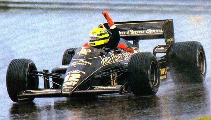 Ayrton Senna Lotus GP de Portugal de 1985