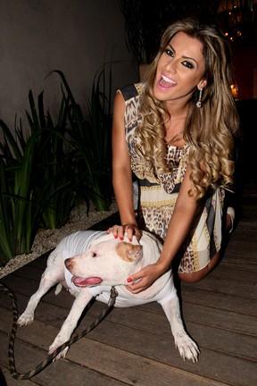 Babi Rossi em evento beneficente em São Paulo (Foto: Manuela Scarpa/ Foto Rio News)