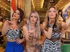Sheila Mello, Carol Narizinho e Babi Rossi usam looks curtos e decotados