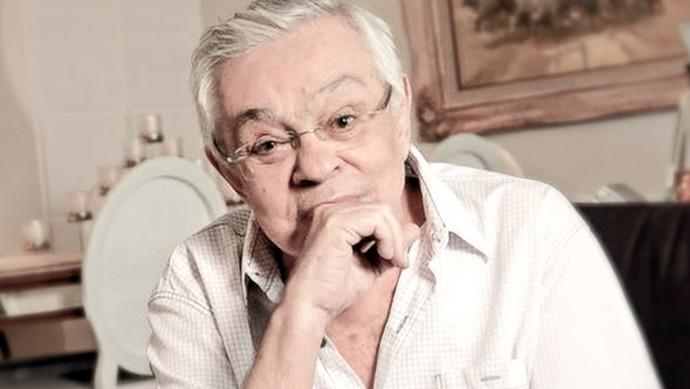 Chico Anysio recebe homenagem da TV Verdes Mares. (Foto: Reprodução)