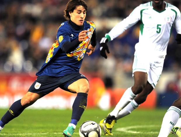 Bojan, amistoso Catalunha e Nigéria (Foto: Agência AFP)