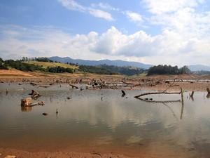 Sistema Cantareira (Foto: Agência OGlobo)