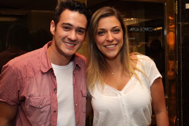 Marcos Veras e esposa  (Foto: Anderson Borde/AgNews)