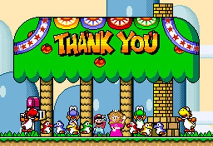 O encerramento do jogo dependia do progresso do jogador (Foto: Reprodução / Destructoid)