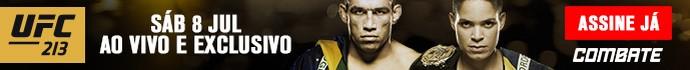 banner Combate UFC 213 (Foto: Combate)