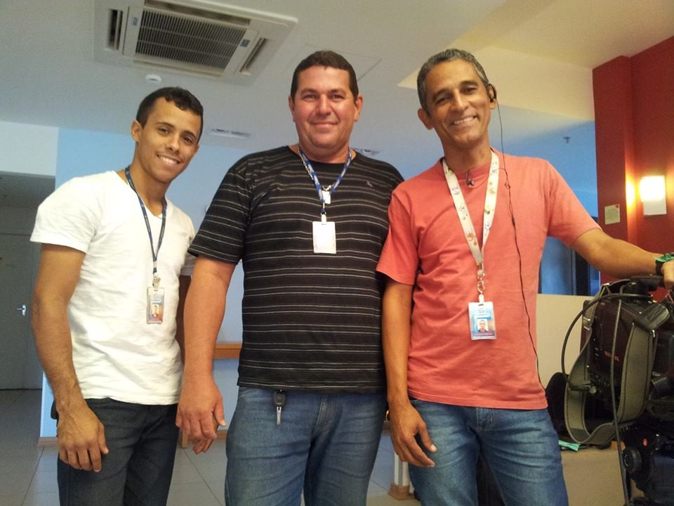 Luiz Ricardo trabalhá há 9 anos na TV Grande Rio (Foto: Reprodução redes sociais)