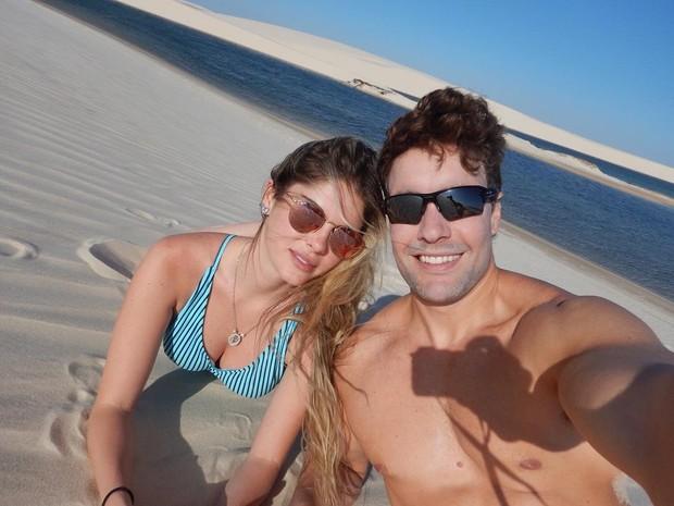 Bárbara Evans e o namorado, Antonio Villarejo (Foto: Reprodução/Instagram)