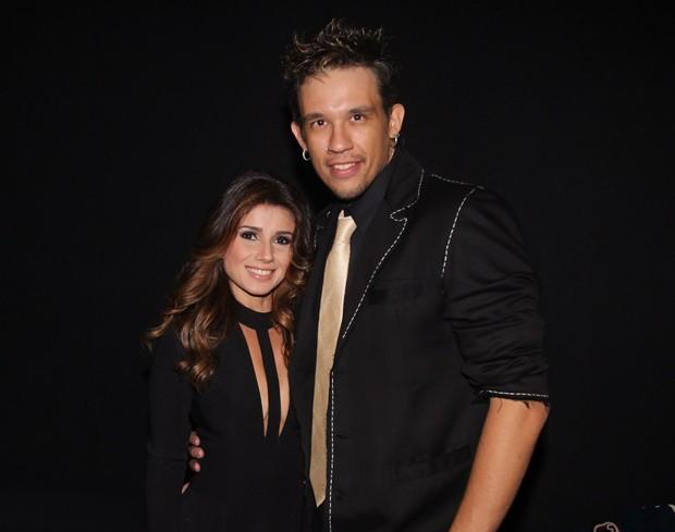 Paula Fernandes e Kiko, em registro feito no dia 28/11 (Foto: Manuela Scarpa/Brazil News)