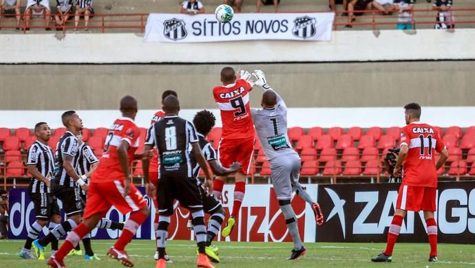 CRB x Ceará, no Estádio Rei Pelé (Foto: Ailton Cruz / Gazeta de Alagoas)