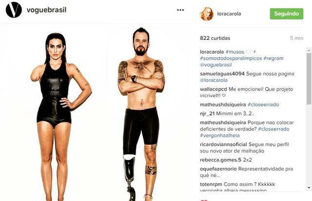 Carolina Dieckmann (Foto: Reprodução/ Instagram)
