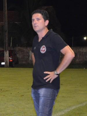 Heder Palmonari, técnico do Pimentense (Foto: Magda Oliveira)