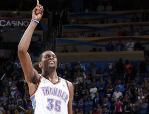 Kevin Durant Oklahoma City Thunder NBA (Foto: Getty Images)