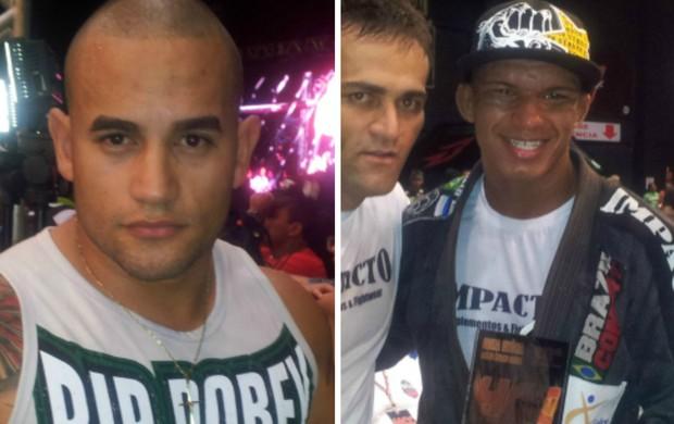 Bruno Gomes desafiou Rodrigo Kanu Teixeira pelo cinturão dos leves do HCC (Foto: Richard Pinheiro/Globoesporte.com)