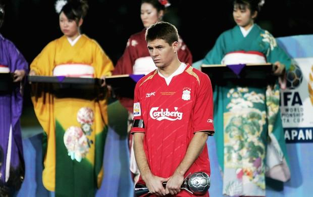 Gerrard Liverpool Mundial 2005 (Foto: Getty Images)