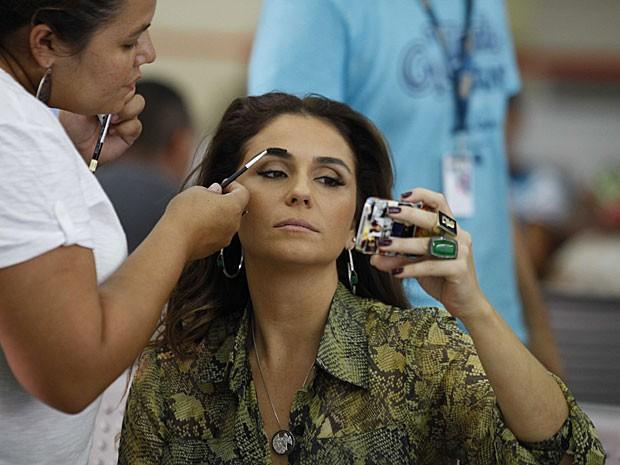A maquiagem da bela Giovanna Antonelli (Foto: Salve Jorge/TV Globo)