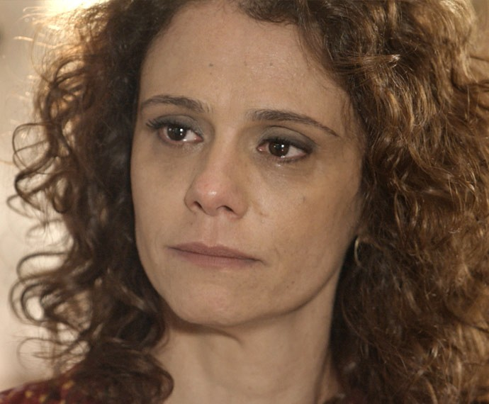 Irene se emociona (Foto: TV Globo)