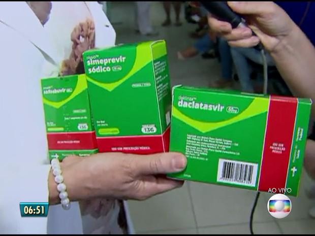 remédios hepatite c (Foto: Reprodução/TV Globo)